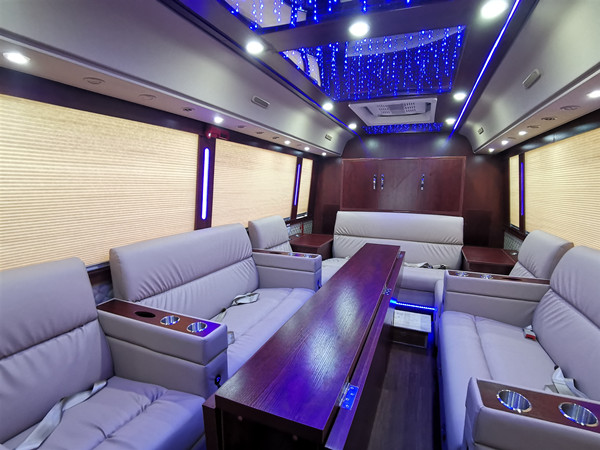 Brand New Intelligent VVIP Luxury Business Coach Jointly Developed For Saudi Arabia is Going To Be Operated